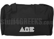 Delta Omega Epsilon Duffel Bag, Black