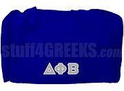 Delta Phi Beta Duffel Bag, Royal Blue