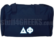 Delta Phi Duffel Bag, Navy Blue