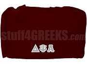 Delta Psi Alpha Duffel Bag, Maroon