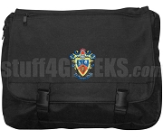 Delta Sigma Pi Laptop Bag, Black