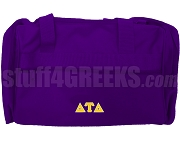 Delta Tau Delta Duffel Bag, Purple