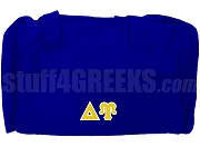 Delta Upsilon Duffel Bag, Royal Blue