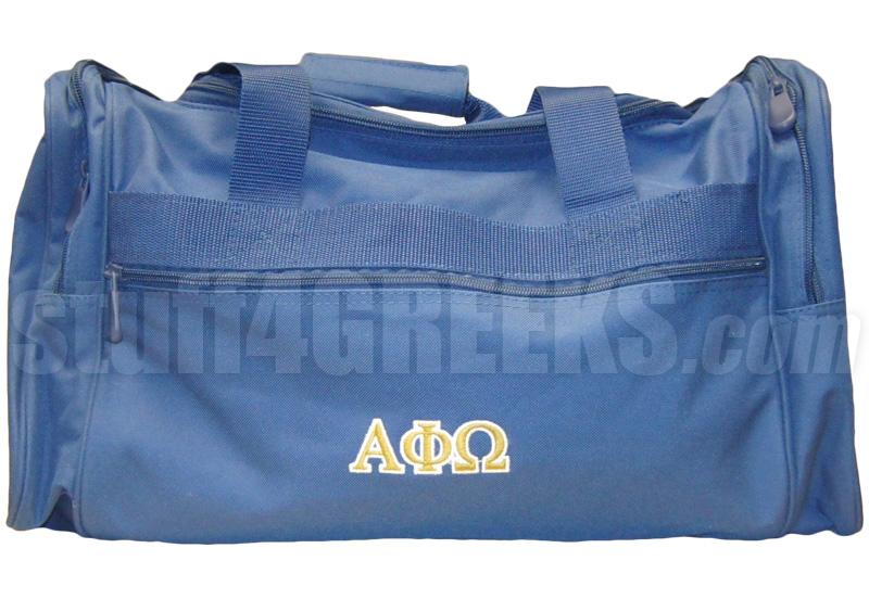 Alpha Phi Geometric Luggage Tag