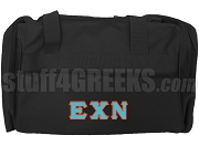 Epsilon Chi Nu Duffel Bag, Black