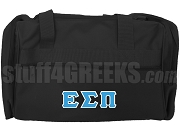 Epsilon Sigma Pi Duffel Bag, Black