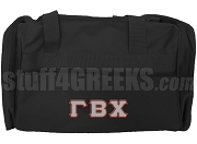 Gamma Beta Chi Duffel Bag, Black