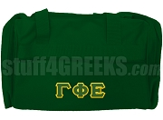 Gamma Phi Epsilon Duffel Bag, Forest Green