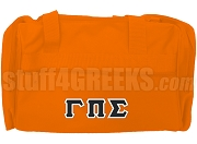 Gamma Pi Sigma Duffel Bag, Orange