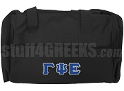 Gamma Psi Epsilon Duffel Bag, Black