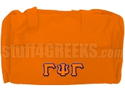 Gamma Psi Gamma Duffel Bag, Orange