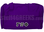 Gamma Xi Phi Duffel Bag, Purple