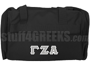 Gamma Zeta Alpha Duffel Bag, Black