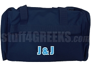 Jack & Jill Organization Letter Duffel Bag, Navy Blue