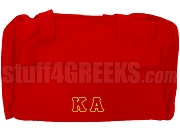 Kappa Alpha Order Duffel Bag, Red