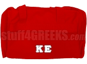 Kappa Epsilon Duffel Bag, Red