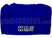 Kappa Omega Xi Duffel Bag, Royal Blue