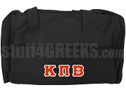 Kappa Pi Beta Duffel Bag, Black