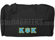 Kappa Psi Kappa Duffel Bag, Black