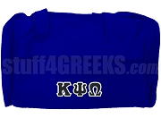 Kappa Psi Omega Duffel Bag, Royal Blue