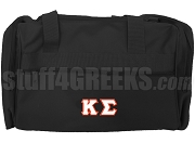 Kappa Sigma Duffel Bag, Black