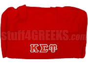 Kappa Sigma Upsilon Duffel Bag, Red