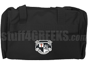 Knights Fraternity, Inc. Duffel Bag with Crest, Black