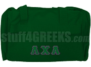 Lambda Chi Alpha Duffel Bag, Green