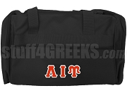Lambda Iota Upsilon Duffel Bag, Black