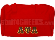 Lambda Upsilon Lambda Duffel Bag, Red