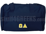 Omega Delta Duffel Bag, Navy Blue