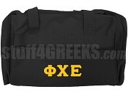 Phi Chi Epsilon Duffel Bag, Black
