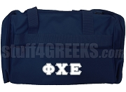 Phi Chi Epsilon Duffel Bag, Navy Blue
