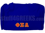 Phi Sigma Alpha Duffel Bag, Royal Blue