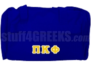 Pi Kappa Phi Duffel Bag, Royal Blue