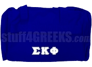 Sigma Kappa Phi Duffel Bag, Royal Blue