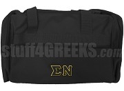 Sigma Nu Duffel Bag, Black