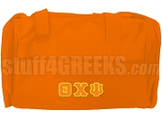 Theta Chi Psi Duffel Bag, Orange