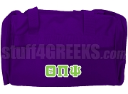 Theta Pi Psi Duffel Bag, Purple