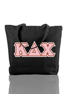 Kappa Delta Chi Triple-Layered Tote Bag