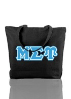 Mu Sigma Upsilon Triple-Layered Tote Bag