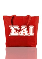 Sigma Alpha Iota Triple-Layered Letter Tote Bag