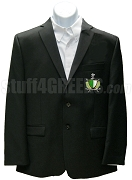 Alpha Delta Phi Blazer Jacket with Crest, Black