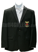 Alpha Eta Rho Men's Blazer Jacket with Crest, Black