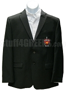 Alpha Gamma Kappa Blazer Jacket with Crest, Black