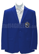 Alpha Gamma Omega Blazer Jacket with Crest, Royal Blue