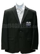 Alpha Iota Omicron Blazer Jacket with Crest, Black
