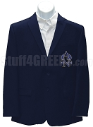 Alpha Omega Nu Blazer Jacket with Crest, Navy Blue