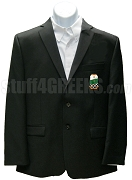 Alpha Omega Theta Christian Fraternity Blazer Jacket with Crest, Black