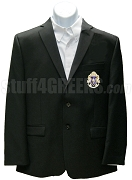 Alpha Phi Delta Blazer Jacket with Crest, Black